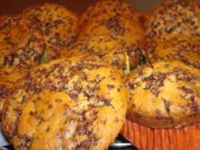 Schoko-Vanille-Muffins - Rezept