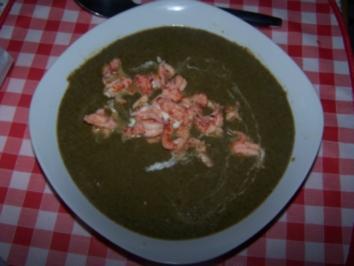 Spinat-Käse Süppchen - Rezept