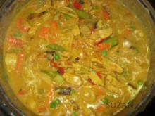 Geschnetzeltes indisch angehaucht - Rezept