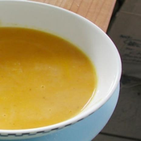 Feurige Karotten-Orangen-Ingwer Suppe - Rezept