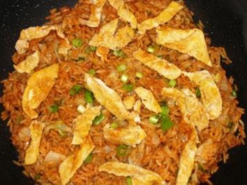 Rezept: Asiatisch: Gebratener Reis