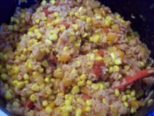 Paprika-Mais-Reis - Rezept