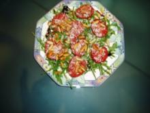 Ruccola-Salat-Ein Hauch von Sommer - Rezept