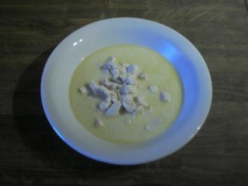 Senfrahmsuppe fein - Rezept
