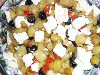 Blech - Kartoffeln mit Rosmarin - Rezept