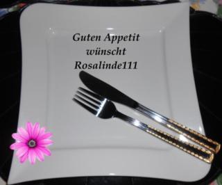 Hackbraten-Käse-Rolle mit Nudeln - Rezept