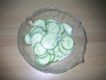Salat - Zucchini-Salat - Rezept