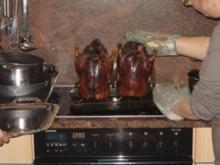 Peking-Ente mit Mandarin Pfannkuchen - Rezept