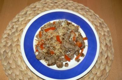 Reis-Hackfleischpfanne - Rezept