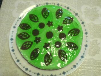 Grüne Quarktorte - Rezept