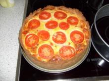 Quiche avec Tomaten - Rezept