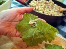 Gefüllte Weinblätter mit Hackfleisch - Rezept