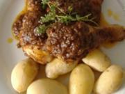 Huhn in Kräutersauce - Rezept