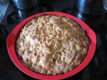 Saftiger Kirsch-Streusel Kuchen - Rezept