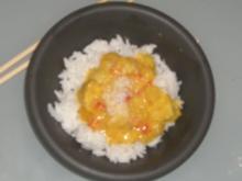 Hähnchen-Curry mit Paprika und Ananas - Rezept