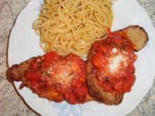 Tomaten - Basilikum Schnitzel - Rezept