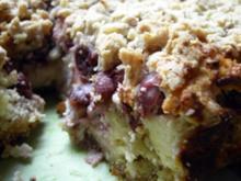 Kuchen: Kirsch-Streusel Käsekuchen - Rezept