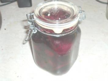 Eingelegte Rote Beete - Rezept