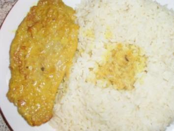 Curry-Rahmschnitzel - Rezept