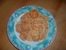 Susi und Strolch Spaghetti - Rezept