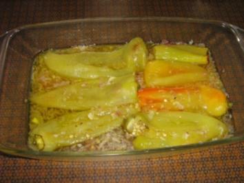 Paprika eingelegt Antipasti aus Rumänien - Rezept