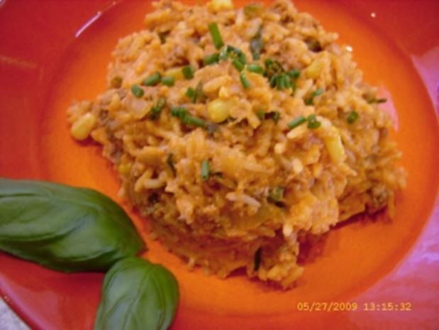 Mexikanischer Reis - Rezept