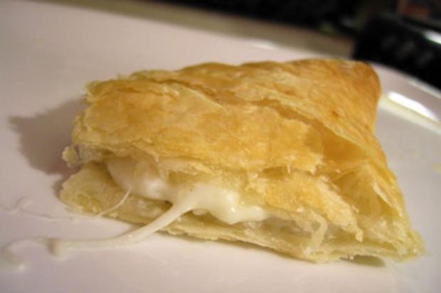 Käse-Blätterteig-Schnitten - Rezept
