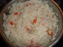 Paprika - Reis - Rezept