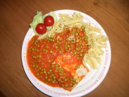 Putenschnitzel mit Paprikasoße - Rezept