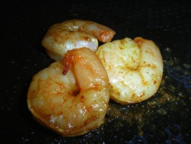 Mango-Garnelen-Spieß - Rezept - Bild Nr. 3