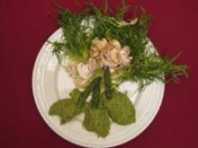 Grüne Spargelmousse - Rezept