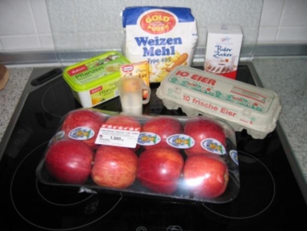 Kuchen: Versunkener Apfelkuchen - Rezept - Bild Nr. 7