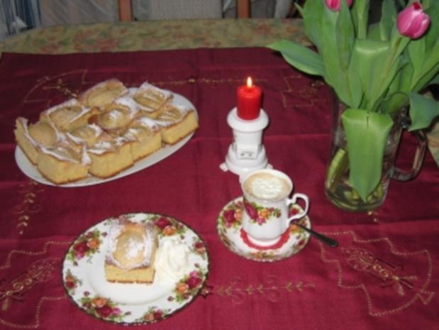 Kuchen: Versunkener Apfelkuchen - Rezept - Bild Nr. 3