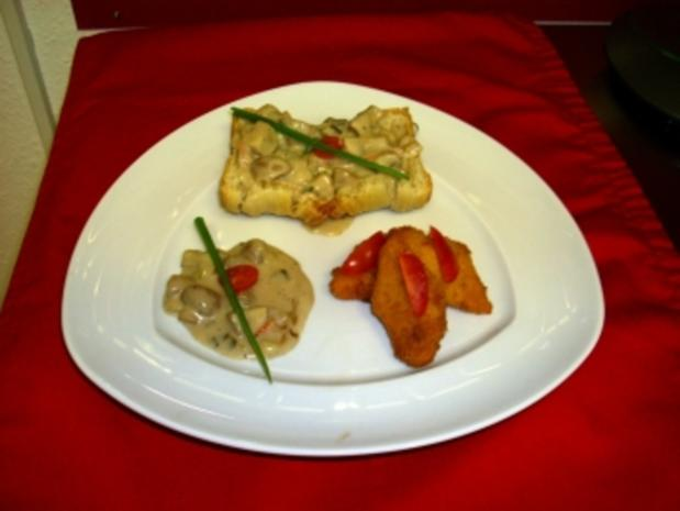 Champignons mit fritterten Möhren - Rezept - Bild Nr. 2