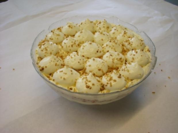 Sahne-Quark-Mousse - Rezept