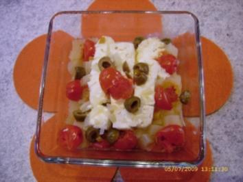 Snack rapidissimo - Miniauflauf mit Feta für Eilige - Rezept