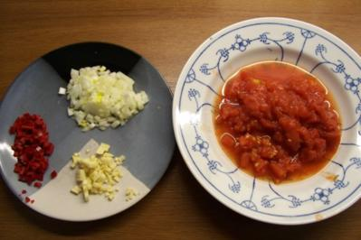 Spaghetti mit scharfer Salami-Soße - Rezept