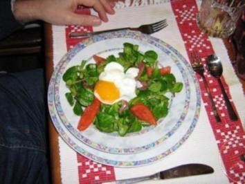 Salat Cäsar á la Bernd - Rezept