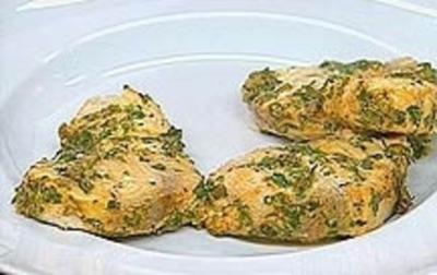 Schwertfisch mit Kräutern und Joghurt mariniert - Rezept