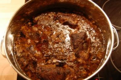 Fleisch: Rouladen mit Steinpilzen in Sahnesauce - Rezept
