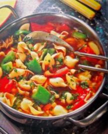 Gemüsetopf mit Muschelnudeln - Rezept - Bild Nr. 2