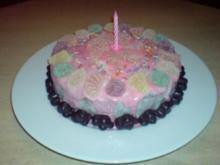 Orangen-Kinder-Geburtstagskuchen - Rezept - Bild Nr. 3