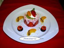 Erdbeer-Joghurt -Sahne -Dessert - Rezept