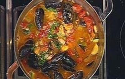 Bohnen Muschel-Eintopf - Rezept
