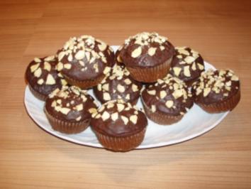 Bananen-Haselnuss-Muffins - Rezept