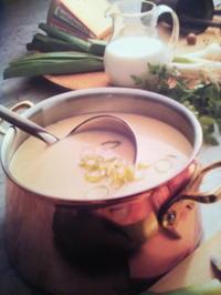 Käsesuppe mit Hackfleisch und Champignons - Rezept - Bild Nr. 3857