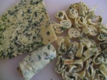 Kräuterpfannkuchen - Streifen  auch Celestine - Flädle - Fritaten genannt - Rezept