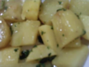 Petersilien Kartoffeln ganz einfach und schnell - Rezept
