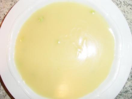 Spargelcremesuppe - Rezept