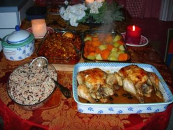 Knoblauhähnchen(galinha brasileira) - Rezept